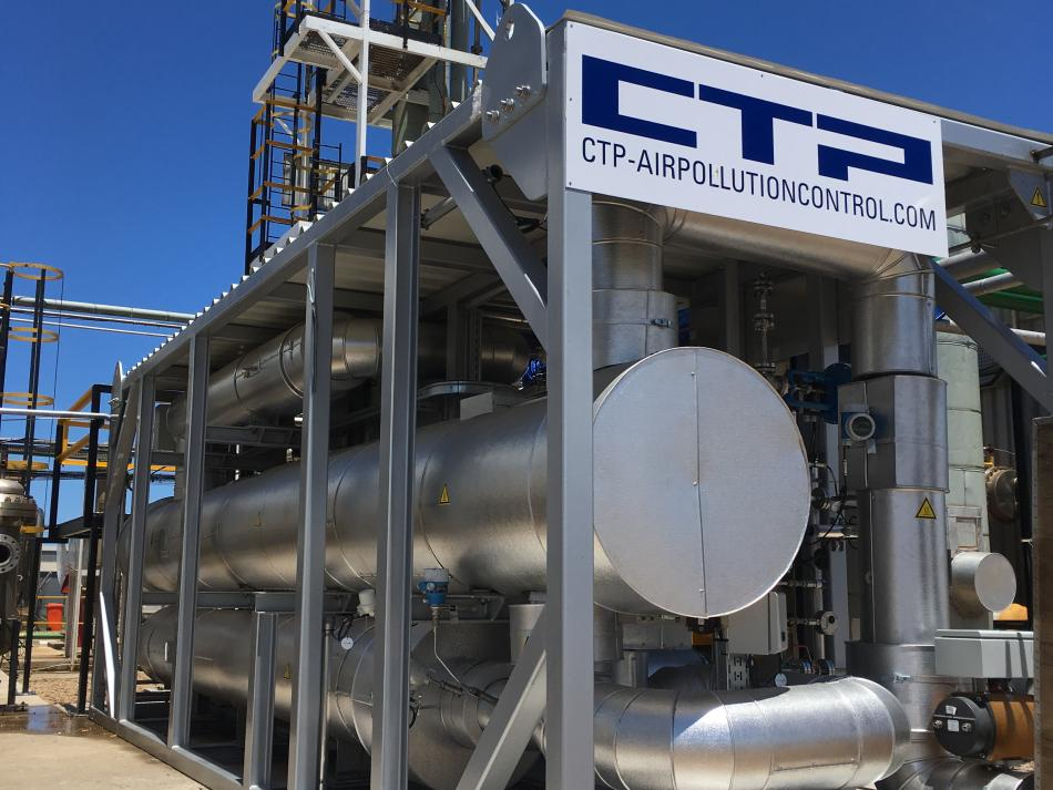 "CTP Reference ""CO2 purification"""